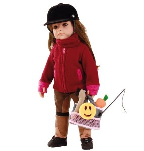 Hannah Loves Horse Riding, 50cm Gotz Doll. 1359071. Free UK Postage.