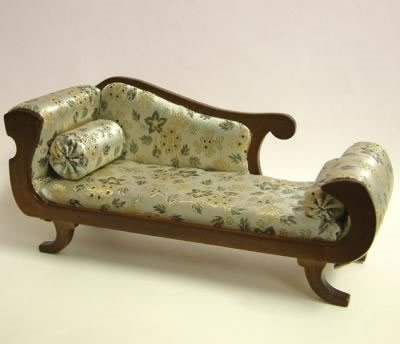 Chaise, Heidi Ott Dolls House Miniature, XY503w