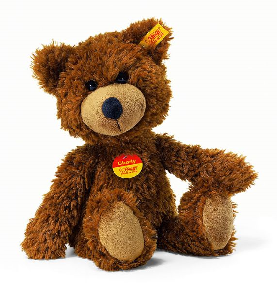 Charly brown plush bear, 23 cm, Steiff EAN 012891