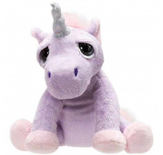 Li'l Peepers Plush Unicorn Shimmer, medium.  Suki.