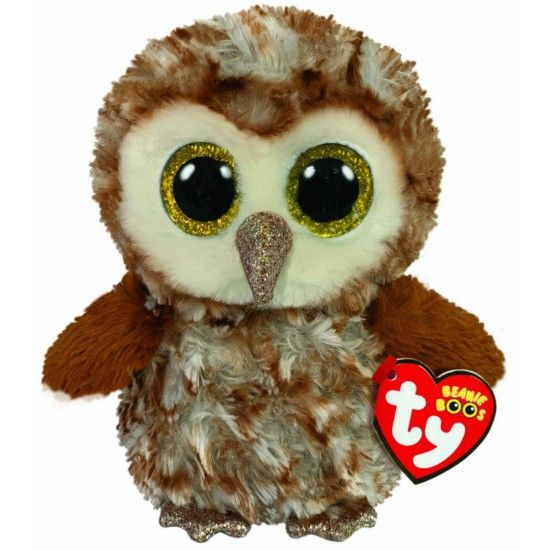 Percy the owl, Soft plush beanie boo from TY.