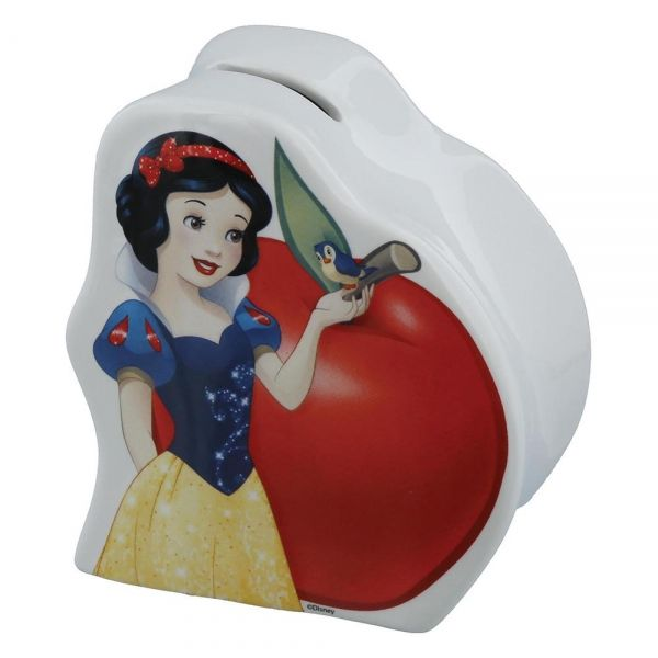 Snow White Porcelain Money Bank. A28757