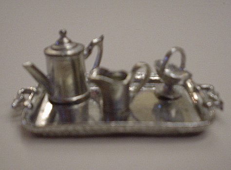 Tea set, Warwick dolls house miniatures TC47